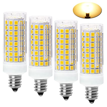 Amazon.com: Bombillas LED E11 (102 LED), equivalentes a 80 W ...