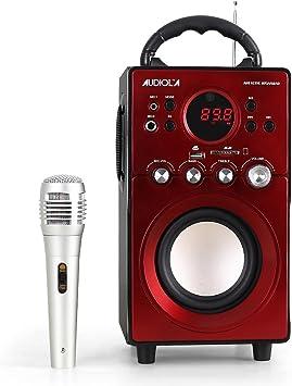 Caja Acústica Amplificada Audiola AHB 0239 K 2.1 con subwoofer AUX ...