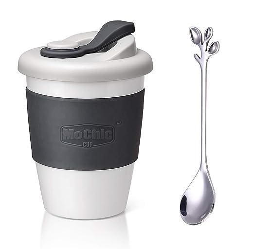 SLOSH Taza Cafe para Llevar Viaje Mug Café Desayuno Reutilizable ...