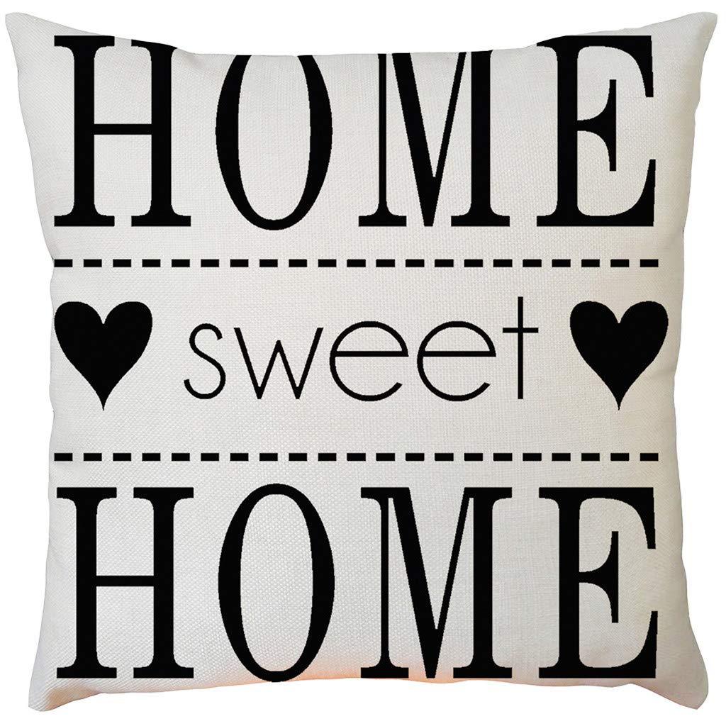DV/_ Feather Plush Case Throw Pillow Cushion Cover Sofa Car Cafe Decoration Candy