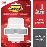 Command Broom & Mop Gripper, 1-Gripper
