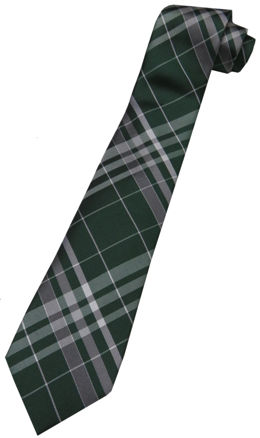 Croft&Barrow Men's Tie, Boot Plaid, Green