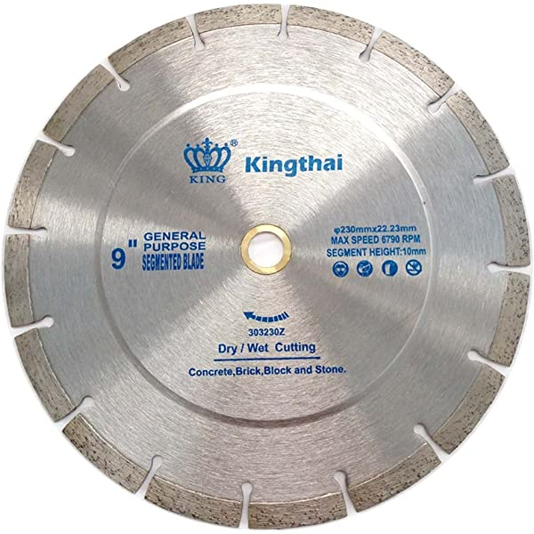 2 X 9 INCH 230MM DIAMOND CUTTING DISC MASONRY STONE HARD BRICK TILE CONCRETE UK
