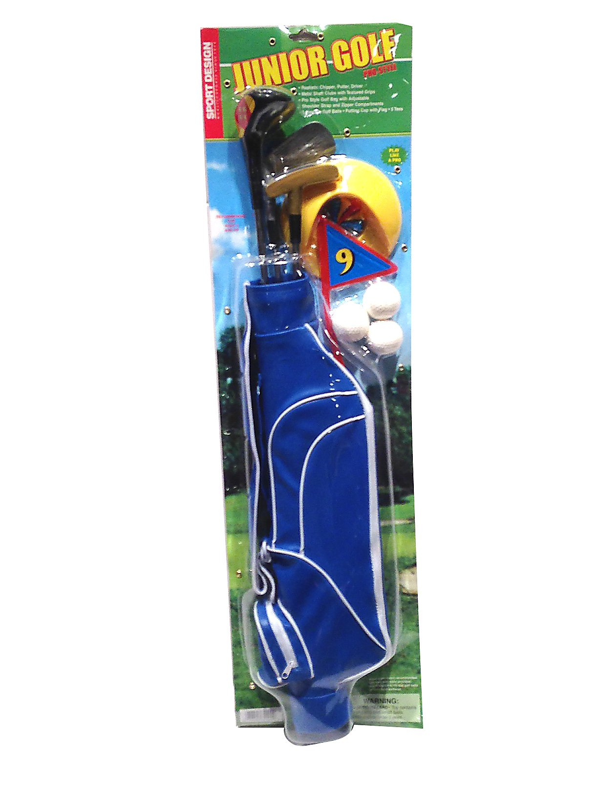 Dry Branch Sports Design Deluxe Junior Golf Club Set by Dry Branch Sports Design (Image #1)