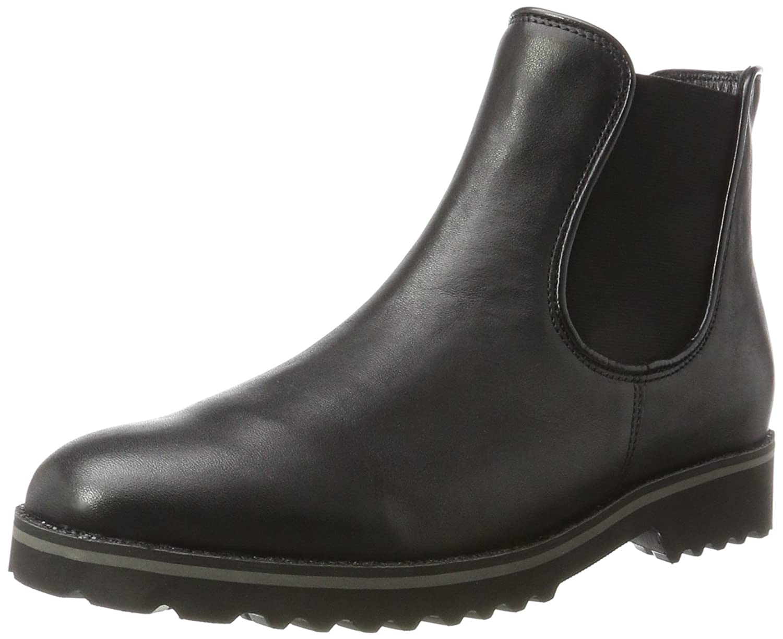 Gabor Shoes Gabor Fashion, Botas para Mujer40 EU Negro (27 Schw.ra.glitter)