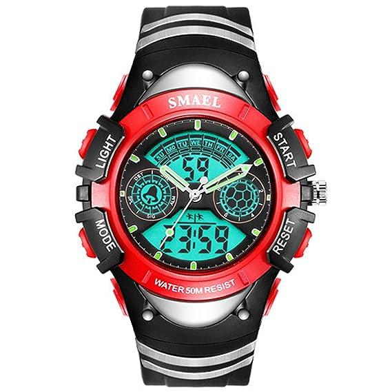 Beydodo Reloj Despertador Reloj Deportivo Relojes Electronicos Relojes LED Reloj Hombre Luminoso Relojes Niños Reloj de