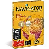 Navigator Colour Documents Carta Premium per ufficio, Formato A4, 120 gr, 1 Risma da 250 Fogli