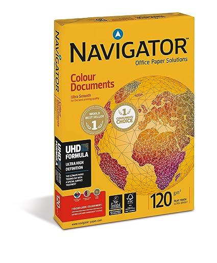 Navigator Colour Documents, Papel Especial de Copiadora, A4, 12 ...