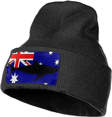 Turring-shop Gorra de esquí con Bandera Australiana de tiburón ...