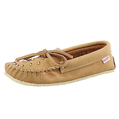 c03f6accdff6 Image Unavailable. Image not available for. Color  SoftMoc Women s 131075  Rubber Sole Moccasin Cork 6 ...