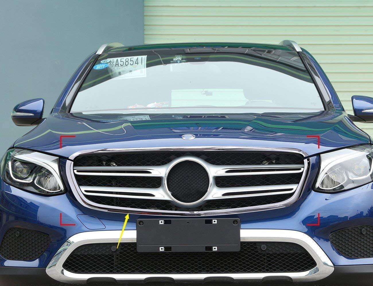 in plastica ABS cromata AUTO Pro per Mercedes Benz Classe GLC X253 GLC260 GLC300 2017 Accessori per Auto