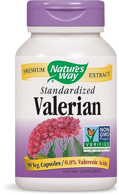 Nature's Way, Valerian Standardized, Natural Sleep Aid