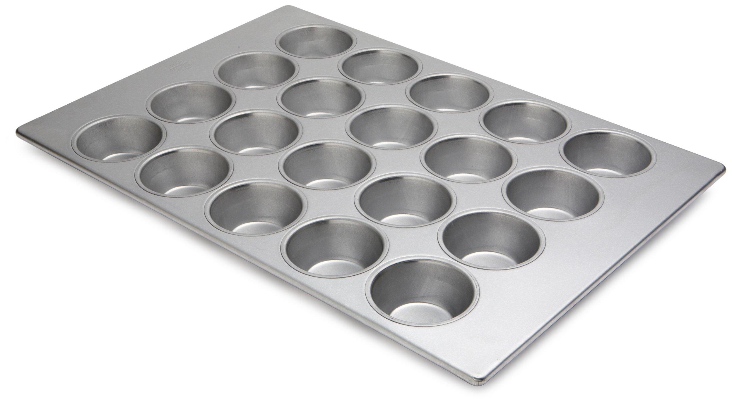 Focus Foodservice Commercial Bakeware Pecan Roll Pan, 20 Cup