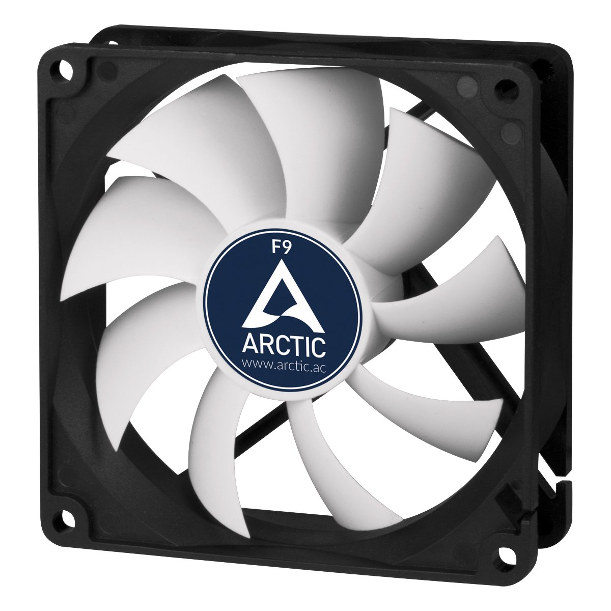 ARCTIC F9-92 mm Standard Low Noise Case Fan - Fluid Dynamic Bearing - Innovative Design