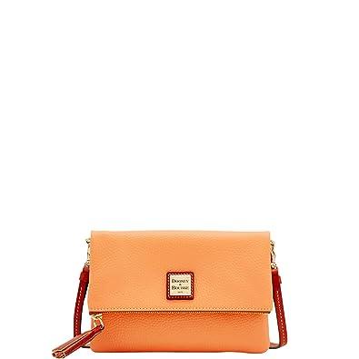 Image Unavailable. Image not available for. Color  Dooney   Bourke Pebble  Grain Foldover Zip Crossbody Shoulder Bag