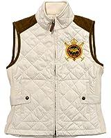 Polo Ralph Lauren Women's Quilted Crest CHALLENGE Vest