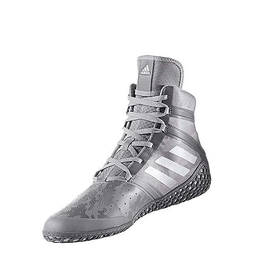 sports shoes a0352 dc847 adidas Impact Men s Wrestling Shoes, Grey Camo Print, Size 4.5