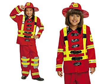 My Other Me Me-200909 Disfraz de bombero 3-4 años Viving Costumes 200909 0f4697243ba
