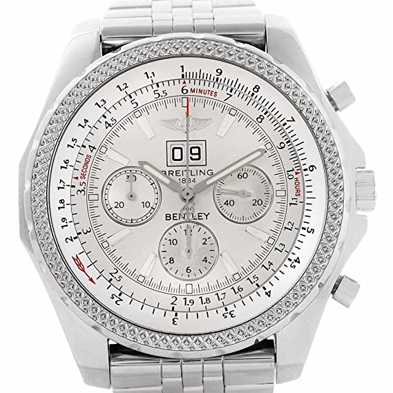 Breitling Bentley automatic-self-wind Mens Reloj a44362 (Certificado) de segunda mano: Breitling: Amazon.es: Relojes