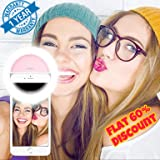 MoohMaya Selfie Enhancing Ring Light with 3 Level of Brightness for Photography Video Calling (Smart Phones Laptop Tablet) 36 LED