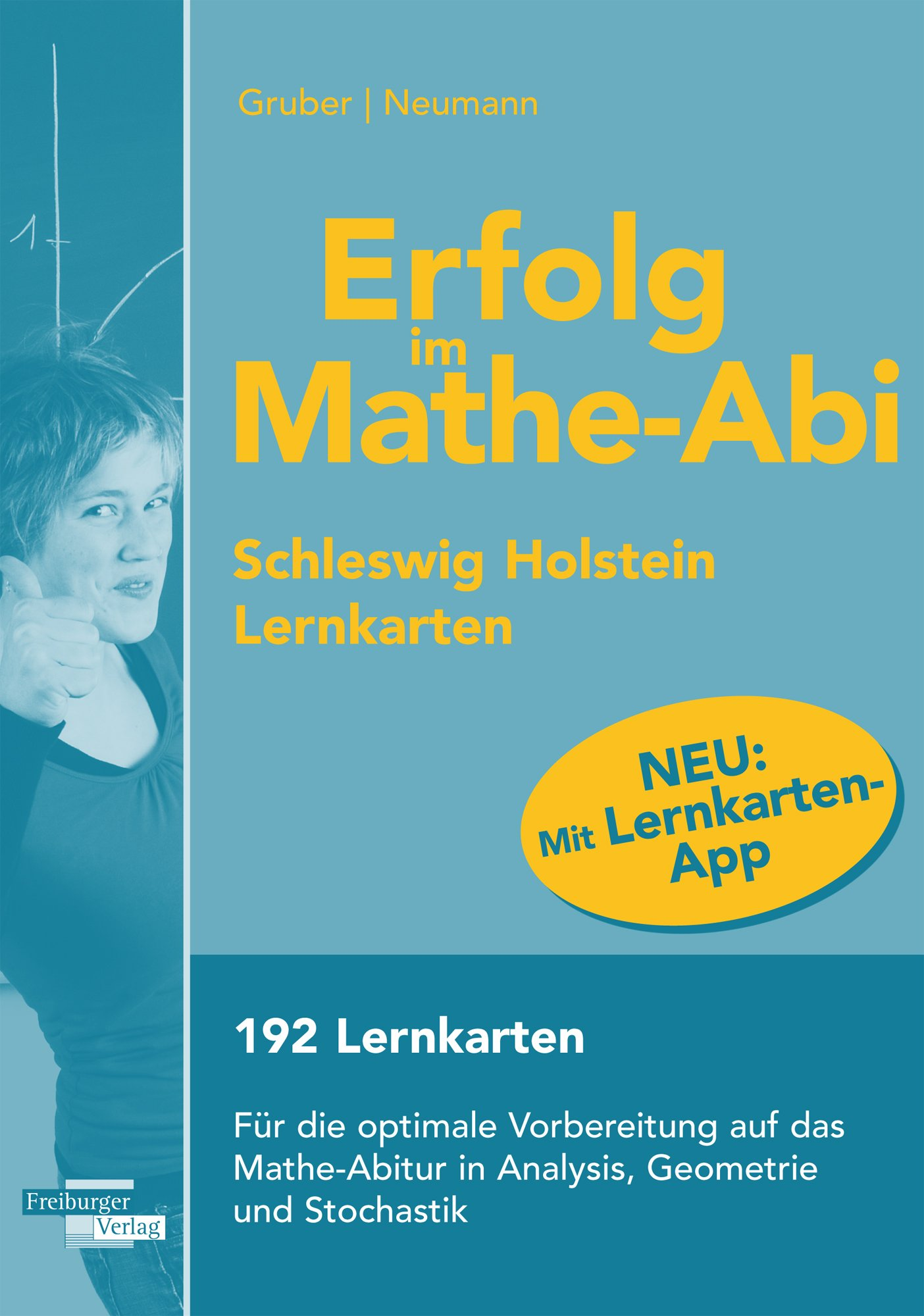 Erfolg im Mathe Abi Lernkarten Schleswig Holstein  Helmut, Gruber ...