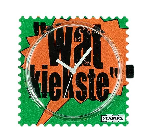 Stamps - Reloj Esfera Wat kiekste - S.T.A.M.P.S. Relojes 100053: Amazon.es: Relojes