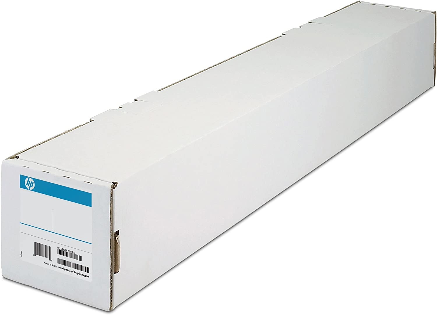 HP Canvas - for Inkjet Print - 24 X 50 Ft - Matte Textured - 97 Brightness - 1 Roll - Bright White E4J54B