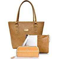 Mammon Womens Handbags sling bags and clutches Combo set of 3