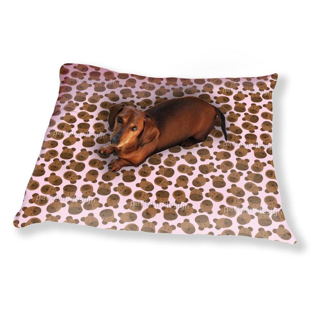 Mister Bear Pink Dog Pillow Luxury Dog / Cat Pet Bed