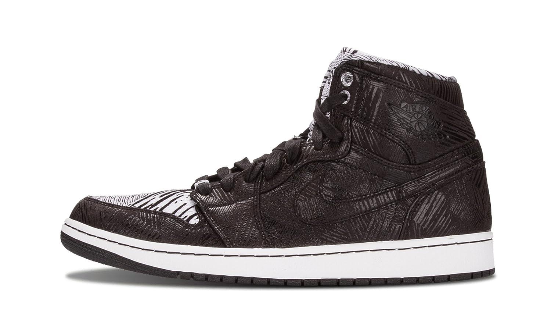 Nike Jordan Mens 1 Retro High BHM Black
