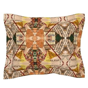 Amazon.com: roostery Collage con brida funda de almohada My ...
