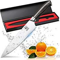 Allezola 8 Inch Professional Chef Knife Kitchen Knives