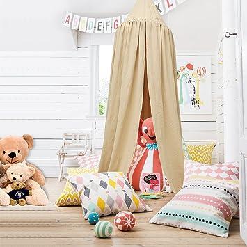 princess dome kinder betthimmel aperfectlife baumwolle moskitonetz kinder spielen zelt vorhnge raum dekoration fr baby - Betthimmel Vorhnge