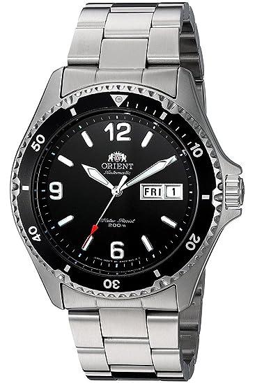 Orient Reloj Analogico para Mujer de Automático con Correa en Acero Inoxidable FAA02001B9