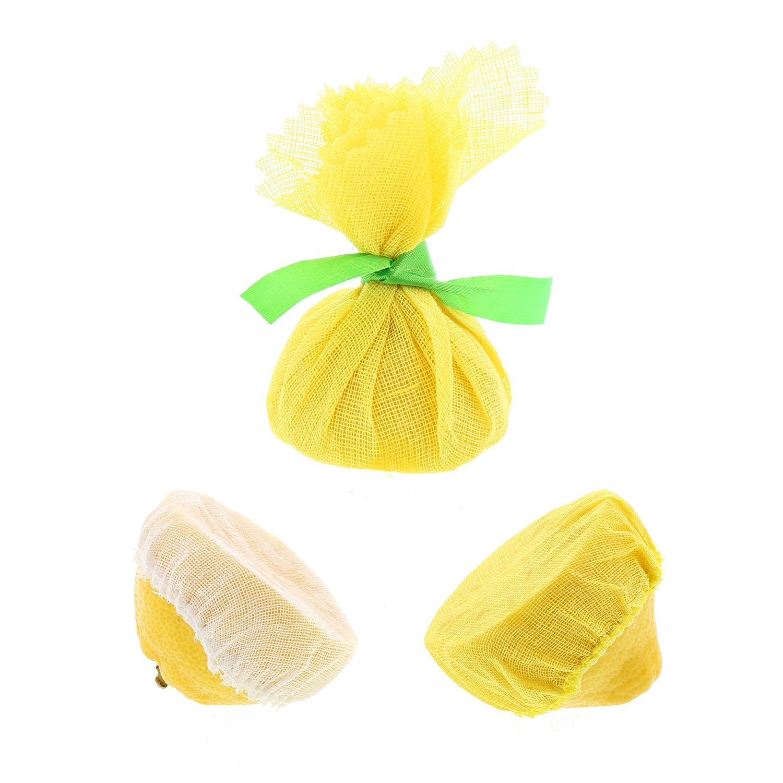 Royal White Lemon Wedge Bags, Package of 2,500