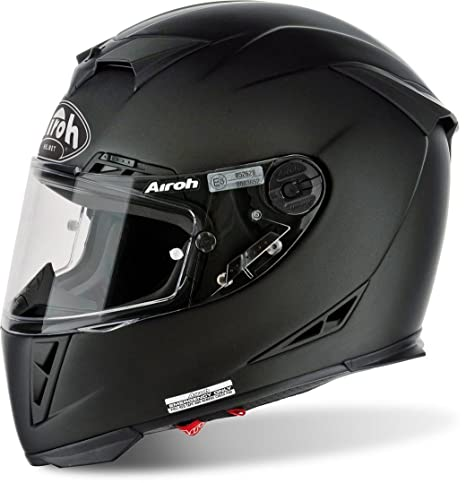 Amazon.es: Airoh Casco de Moto GP de 500, color Negro Mate, talla 54-XS