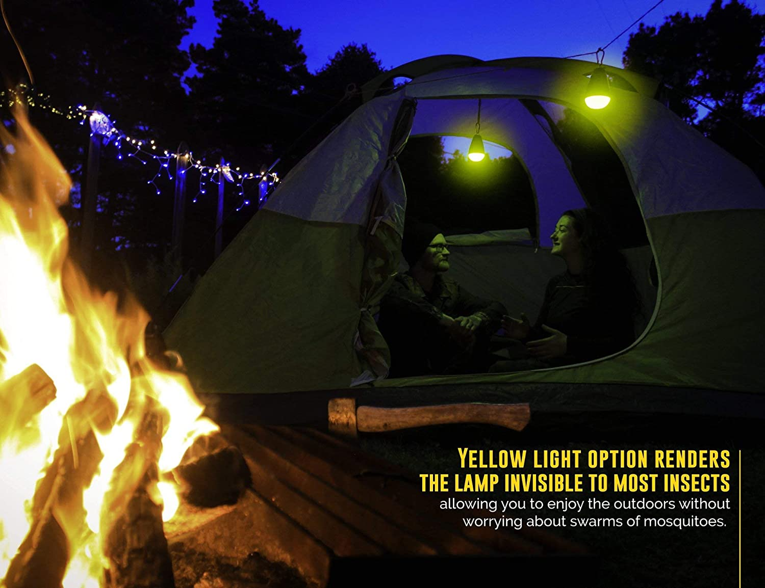 Best Camping Lights For Lighting Your Campsite Led Solar String