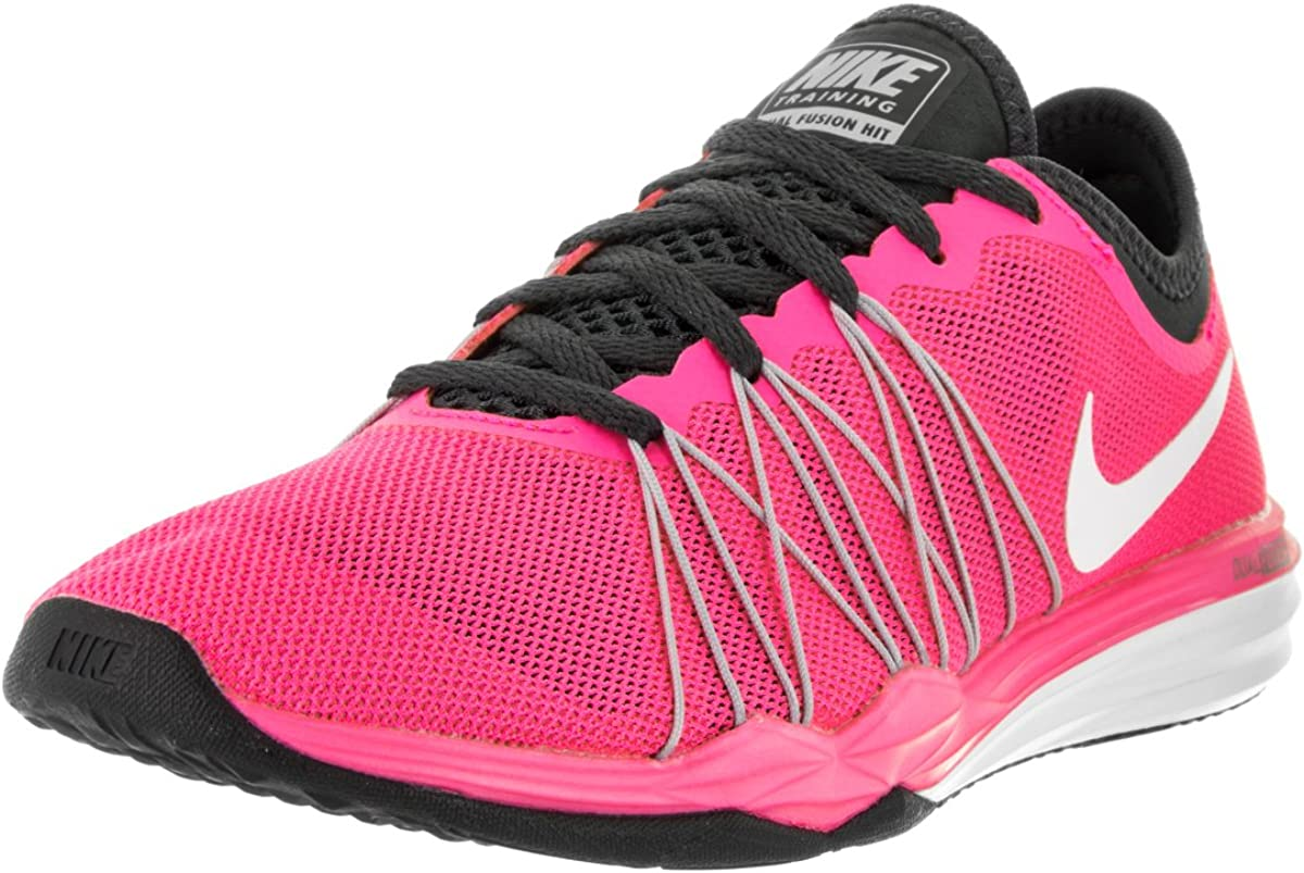 pakistaní Galleta Álgebra  Nike Women's Dual Fusion Tr Hit Training Shoe: Amazon.co.uk: Shoes & Bags