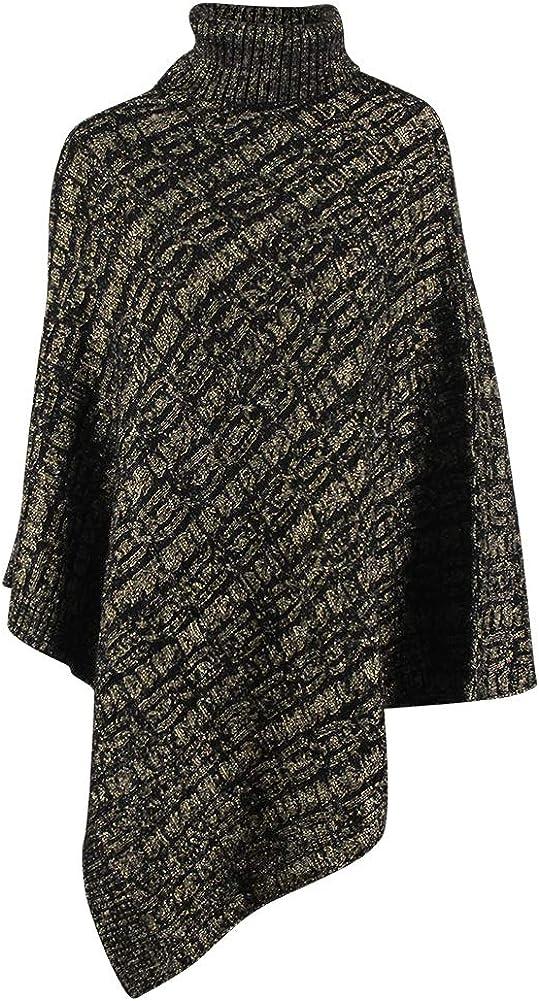 EMWM Poncho Sweater Knit...