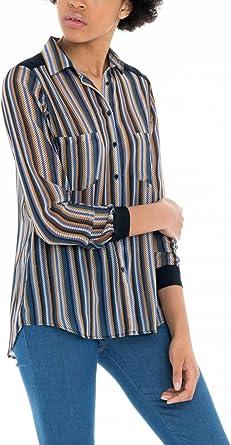 Salsa Camisa de Rayas de Colores: Amazon.es: Ropa y accesorios