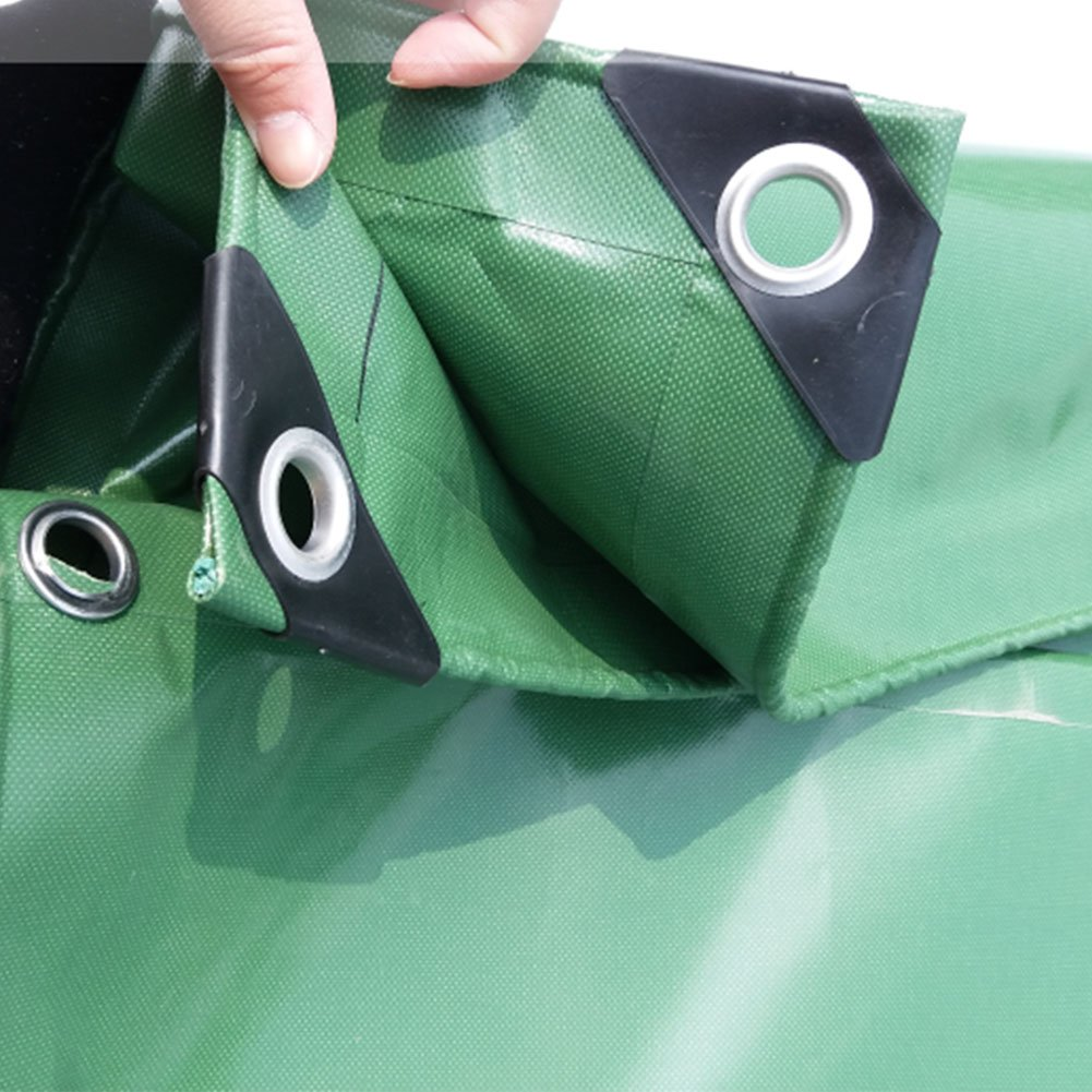 AJZGF Im Freien Wasserdichtes Anti-Altern der Plane regendichtes Sonnenschutz-feuerverzögerndes Tuchholz schützendes schützendes Tuchholz Shedstoff-Hochtemperatur (Farbe : Grün, größe : 3x5m) 6f6509