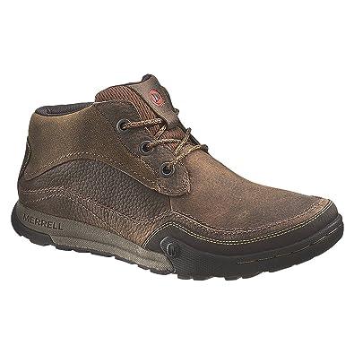 06f3685365cf Merrell Men s Mountain Kicks High Rise Hiking Boots  Amazon.co.uk  Shoes    Bags