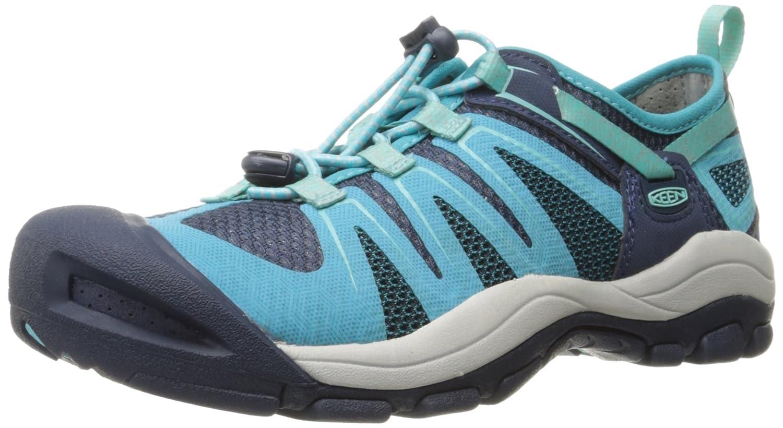 KEEN Women's McKenzie II Hiking Shoe B01H79I6HU 5.5 B(M) US|Dress Blue/Algiers