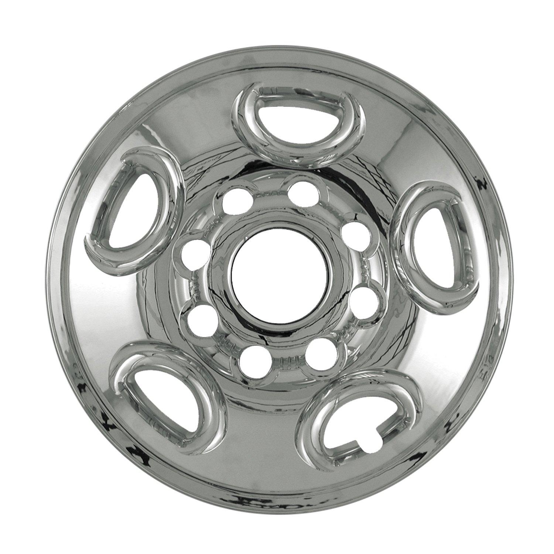 Bully Imposter IMP-50X, GMC, 16' Chrome Replica Wheel Cover, (Set of 4) 16 Chrome Replica Wheel Cover