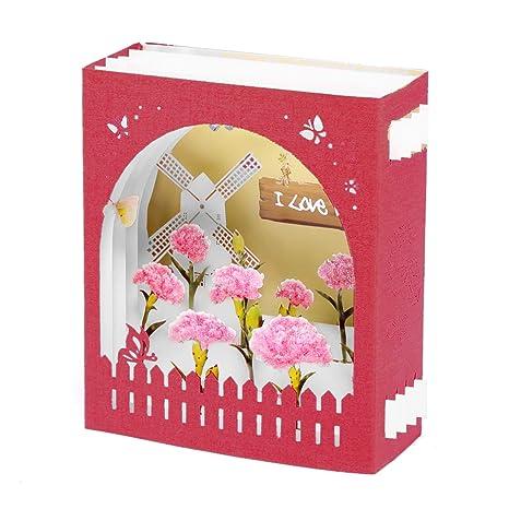 Carte 3d Pop Up Paper Spiritz Enveloppe Cadeau Anniversaire