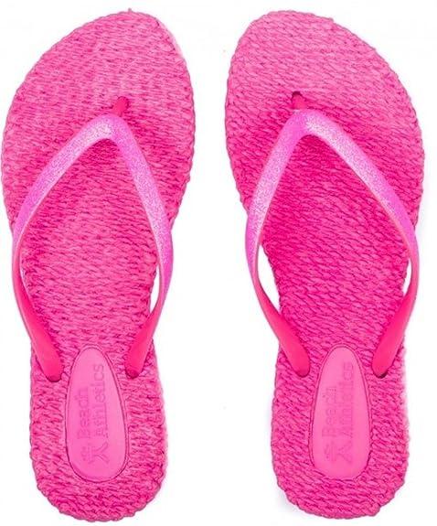 896a2f58328c Beach Athletics Rochefort Pink Womens Beach Flip Flops-6  Amazon.co.uk   Shoes   Bags