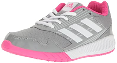 new arrival 8686e 1c383 adidas Kids  Altarun Sneaker, Mid Grey, Ftwr White, Shock Pink s,