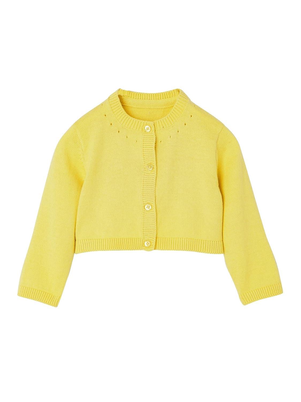 VERTBAUDET Chaqueta de punto tricot corta para bebé niña