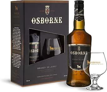 KIT BRANDY OSBORNE COM TAÇA,700ml Osborne Sabor 700 ml