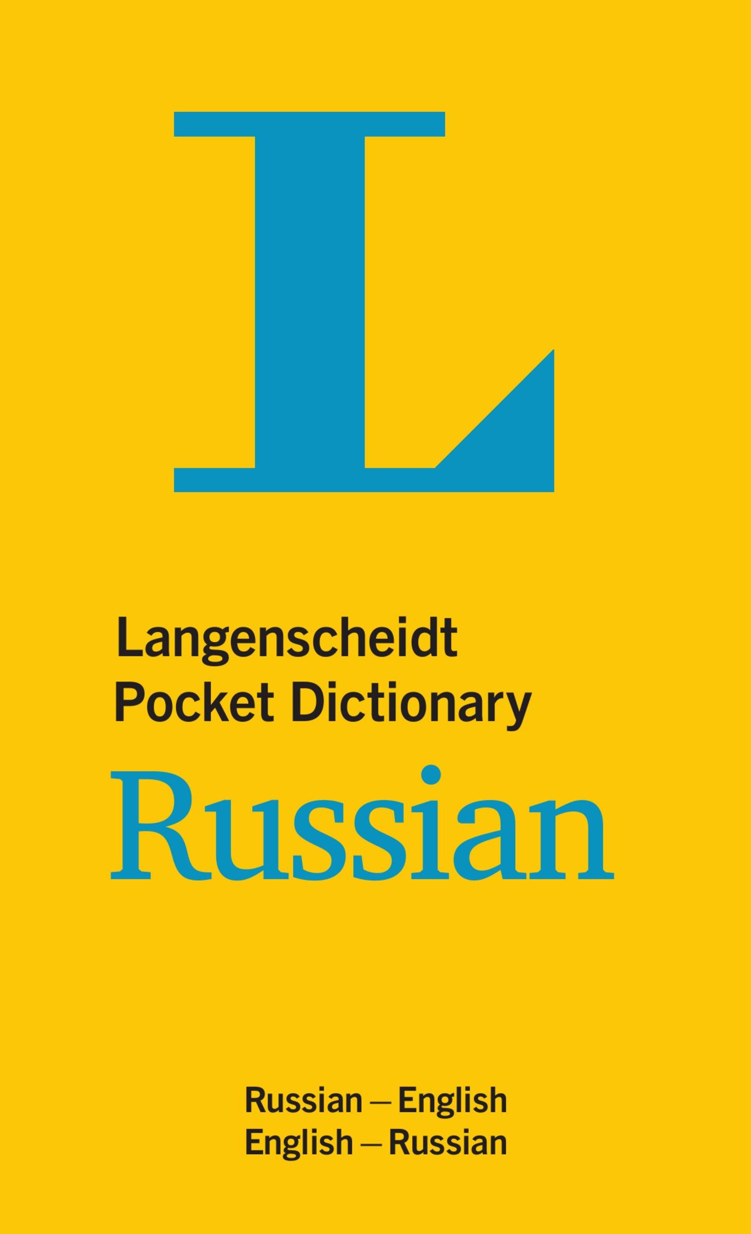 Langenscheidt Pocket Dictionary Russian: Russisch-Englisch/Englisch-Russisch (Langenscheidt Pocket Dictionaries)